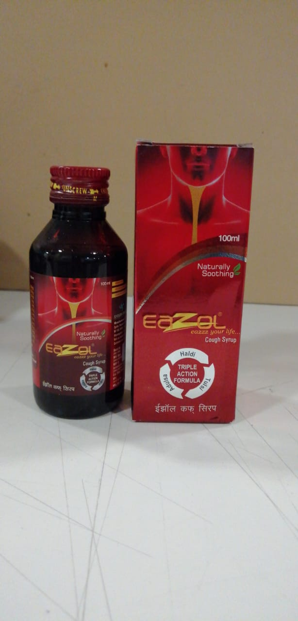 Eazol Cough Syrup 100 Ml Pharma Share Sarl